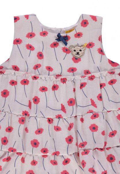634a75d09b5b1 STEIFF Kleid allover Mohnblume Mini Girl Paradise pink Neu 6833308